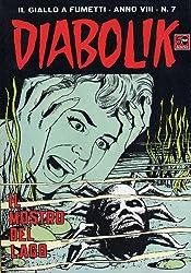 DIABOLIK (135): Il mostro del lago