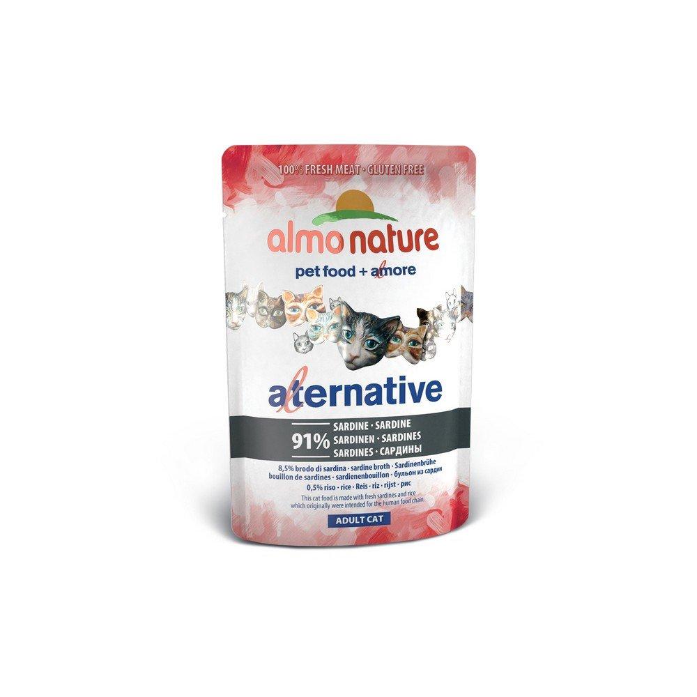 ALMO NATURE Alternativas a 55gr sardinas - Comida mojado de gatos: Amazon.es: Hogar