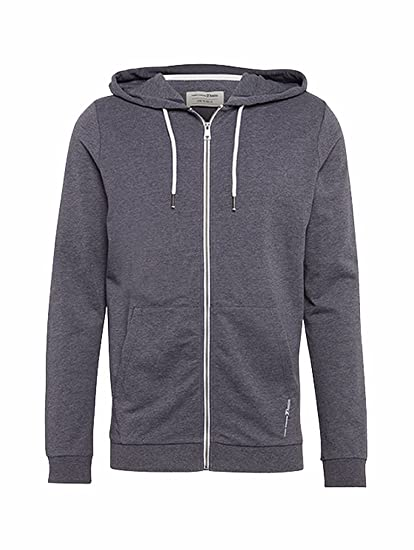 Tom Tailor Denim Sweatjacke in Melangeoptik Herren Sweat NEU