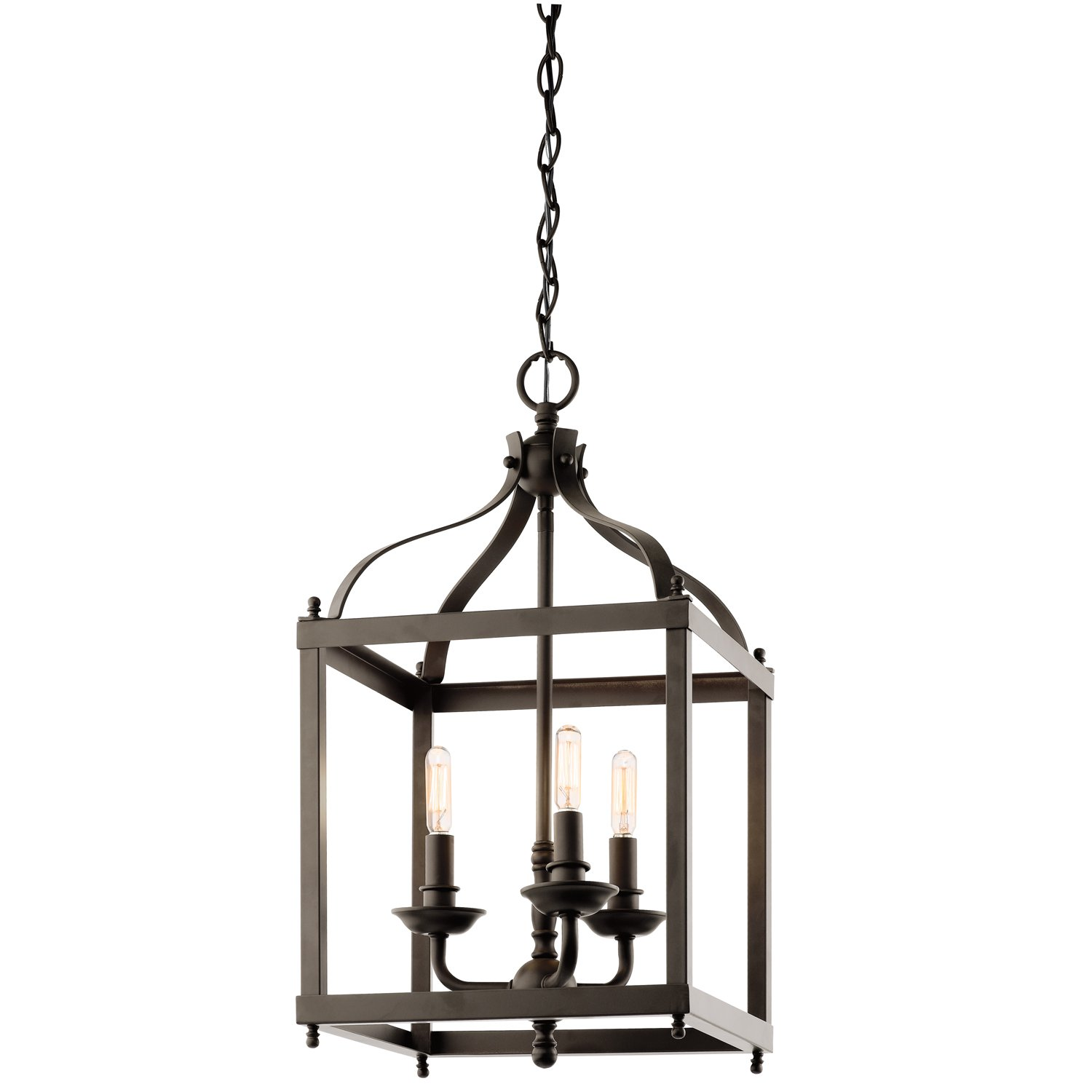 3 pendant light kit. Kichler 42566OZ Larkin Indoor Pendant 3-Light, Olde Bronze - Ceiling Fixtures Amazon.com 3 Light Kit