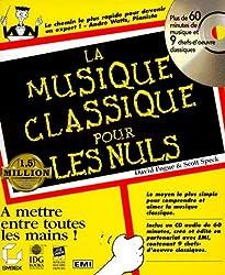 La musiqueclassique pour les nuls . Avec un CD-Rom