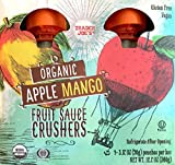 Trader Joe's Organic Apple Mango Fruit Sauce Crushers (1 Box with 4 Pouches)