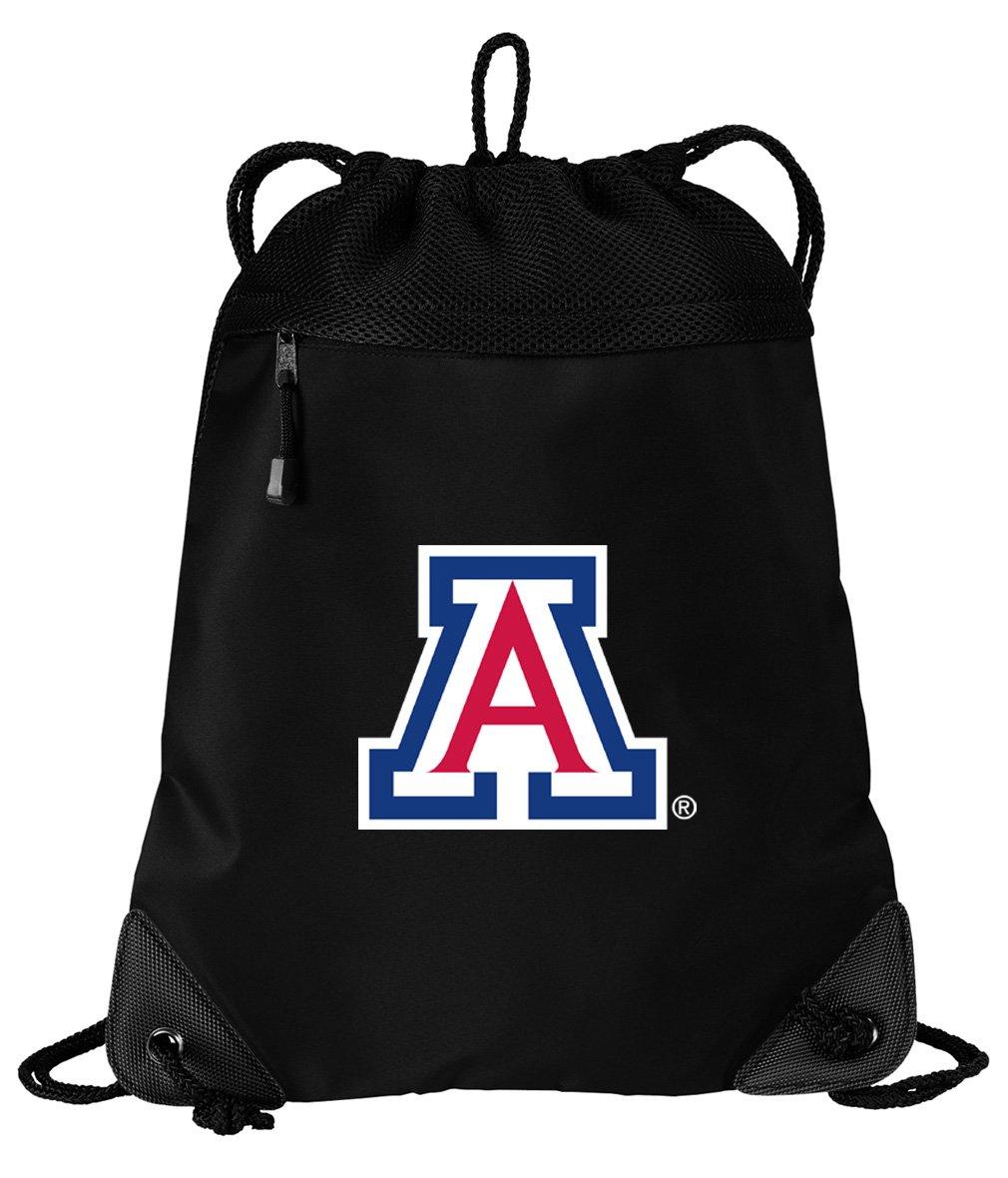 c8fcc96a9d Broad Bay Arizona Wildcats Drawstring Bag University of Arizona Cinch Pack  Backpack UNIQUE MESH   MICROFIBER