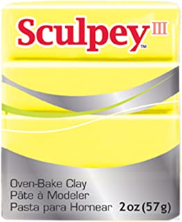 product image for Sculpey S302 1150 III Polymer Clay 2 Ounces-Lemonade