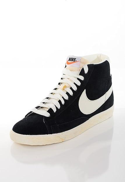 Nike Blazer Hi Noire Et Blanche Chaussures Chaussures