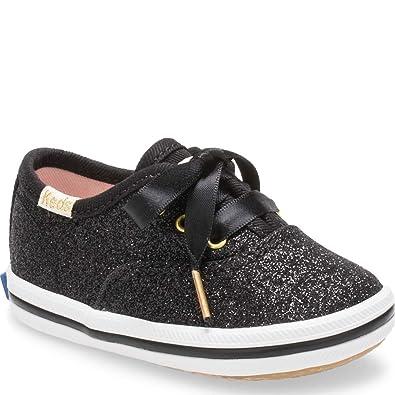 6cc7f8e88aed3a Amazon.com  Keds Kids Womens X Kate Spade Champion Glitter Crib (Infant  Toddler)  Shoes