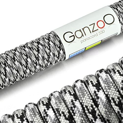 color/é 31 m/ètres Paracorde 550 corde pour bracelet ou collier de chien