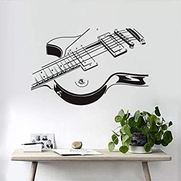 Pegatinas De Pared Venta Al Por Mayor Guitarra Eléctrica 3D ...