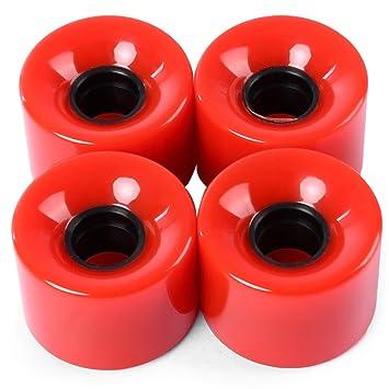 4pcs de alta resistencia Longboard ruedas de Skate – 60 x 45 mm al aire libre