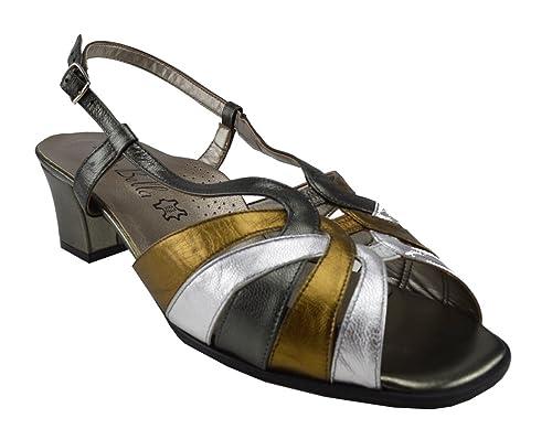 1a249d51ce9 DB Shoes Ladies wide ftting sandals  Amazon.co.uk  Shoes   Bags