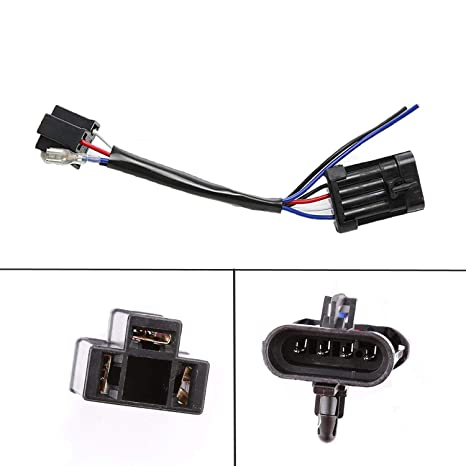 LX-LIGHT 5 75 inch 7inch LED Headlight Wire Harness Adapter