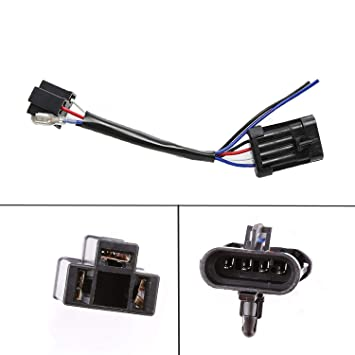 LX-LIGHT 5.75 inch 7inch LED Headlight Wire Harness Adapter on