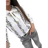 ee4f524bf9 Lounayy Tops Sweatshirts Ladies Pulli Summer Print Jumper Hooded Flower Round  Neck Pullover Long Sleeve Sweatshirt Shirt T…