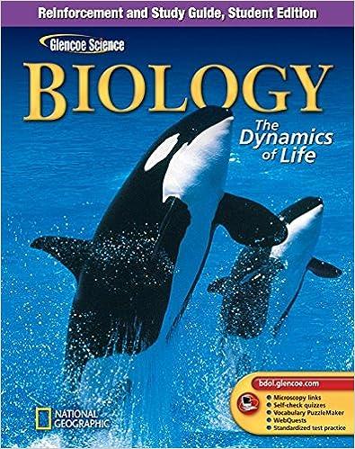 Glencoe Biology The Dynamics Of Life