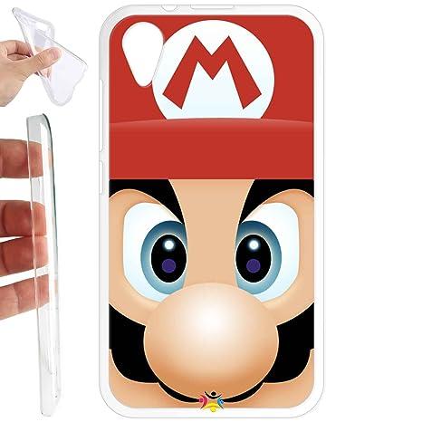 Funda carcasa TPU Gel para Wiko Sunny 2 - 327 Mario bross ...