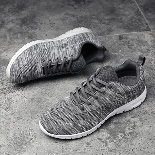 Lacets Hommes Bravover Causal Baskets Lgres Running Raod Athletic Chaussures Footwear Grey1 FqxIqwr