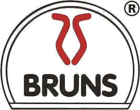 BRUNS 107869770-1/_869765-1/_869768/_869773 Juego Aluminio para Utensilios de Cocina 12 Soportes y 2 Ganchos, con riel de 1000 mm y 750 mm Plata