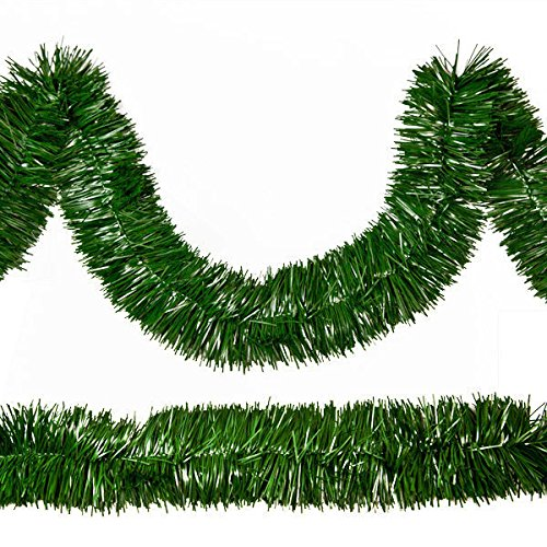 Mountain Pine Garland - Rocky Mountain Goods Christmas Garland - 18 Feet of Thick Pine Decorating Garland for Trees, mantels - Made in USA - Green unlit Garland - Flame/Tarnish Resistant