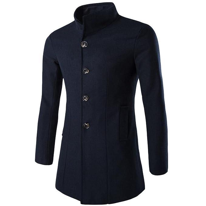 RETUROM Ropa de Abrigo para Hombre, Moda Caliente Espesar el Abrigo de la Chaqueta de