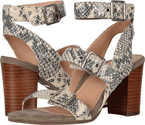 VIONIC Womens Perk Carmel Backstrap Dress Sandal Natural Snake