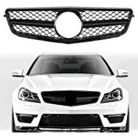Gloss Black Etase Front Bumper Center Kidney Grille Grill Replacement for 2010-2013 3 Series E92 E93 Facelift 328I 328I XDrive 335I 335I XDrive