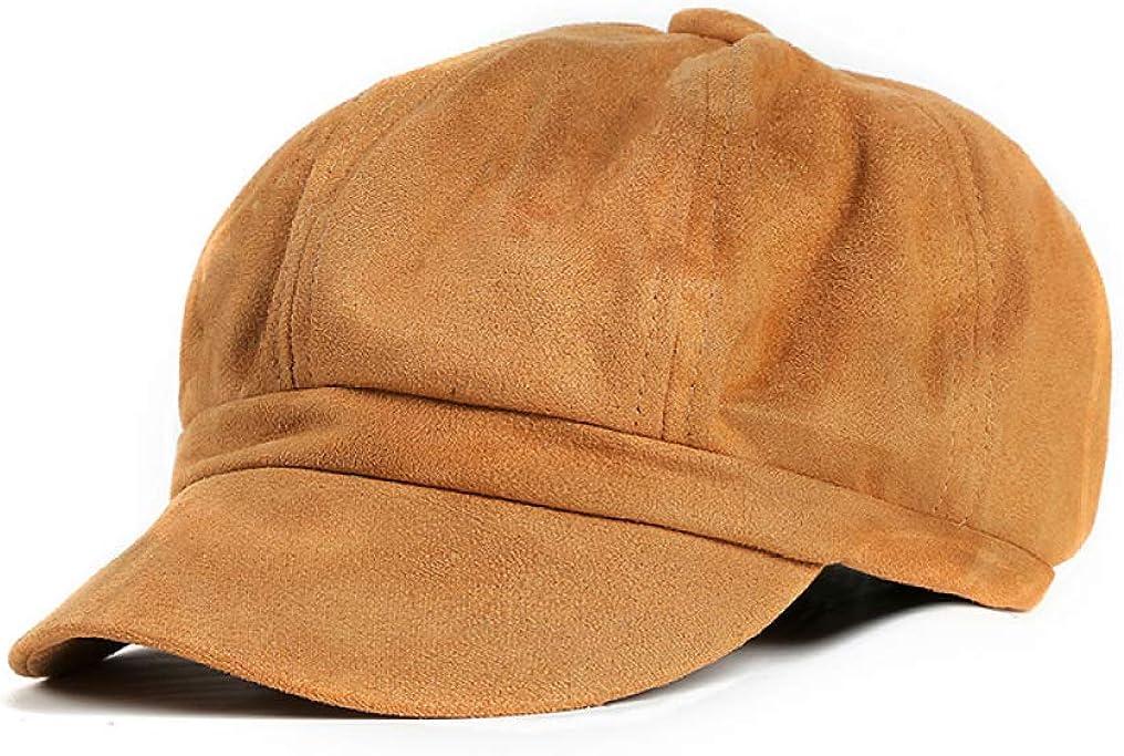 Vintage Suede Octagonal Hat...
