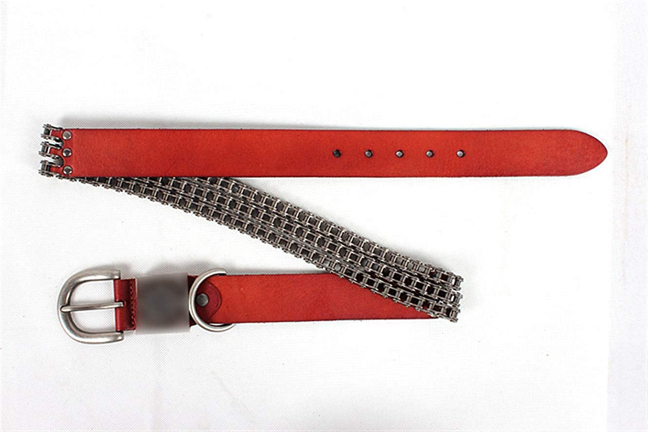 Mens fashion trend chain belt