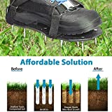 GEERTOP Lawn Aerator Shoes Grass Aeration Shoes