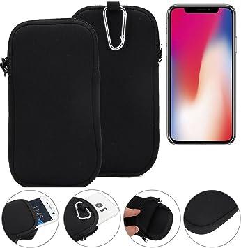 K-S-Trade Funda De Neopreno para iPhone X Bolsa Protectora De Cintur: Amazon.es: Electrónica
