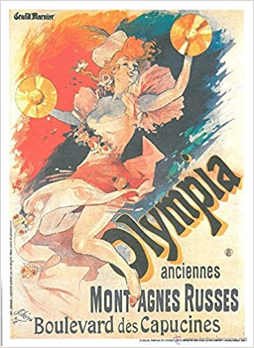 JULES CHERET cartel poster Olympia (CHAIX 1893): Amazon.es ...