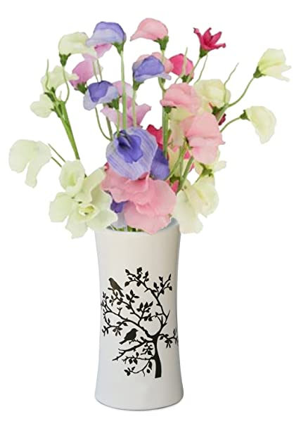 Amazon Souvnear Birds Tree 69 Ceramic Flower Vase