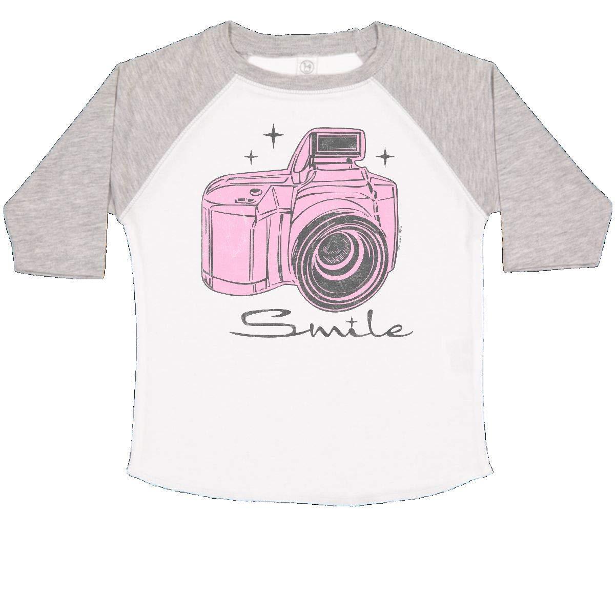 inktastic Camera Smile Toddler T-Shirt
