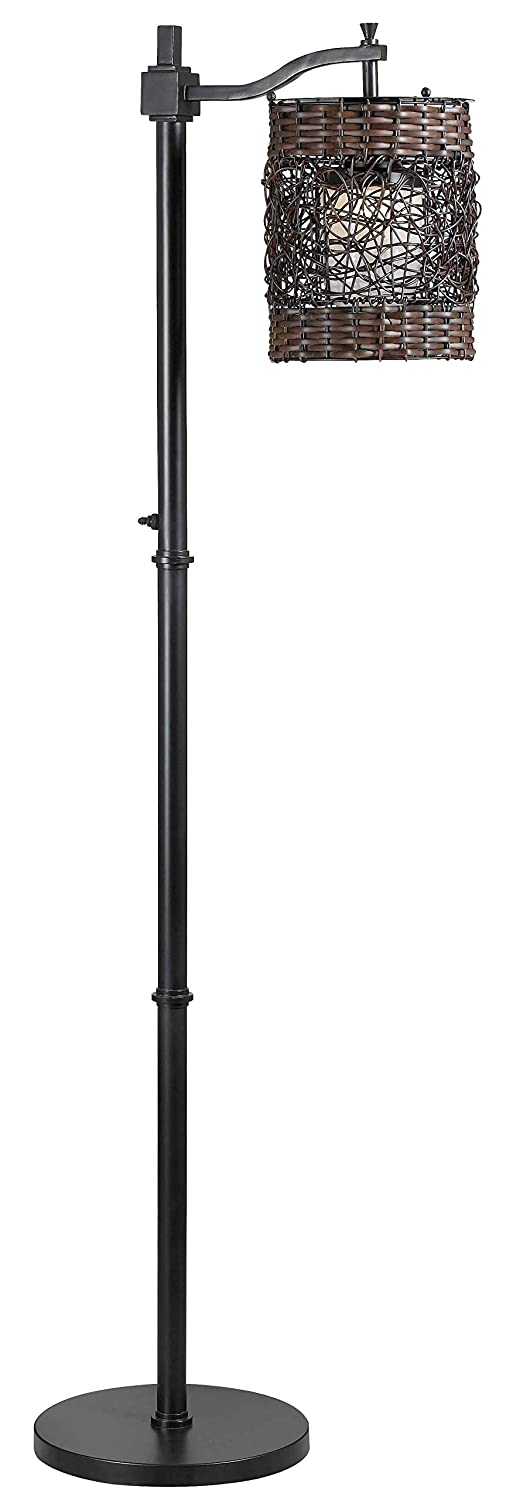Kenroy Home 32144ORB Brent Floor Lamp Outdoor, Oil Rubbed Bronze Finish