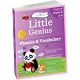 Phonics & Vocabulary II: Kindergarten Workbook (Little Genius Series): Learn Blend Sounds, Sight Words, Phonics Activities, Vocabulary and Reading(4-6 years)(english)