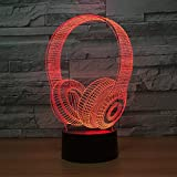 3D LED Creative Small Acrylic Lamps Lights With 7 Color Rechargeable -Valentine's Day - Best Reviews Guide