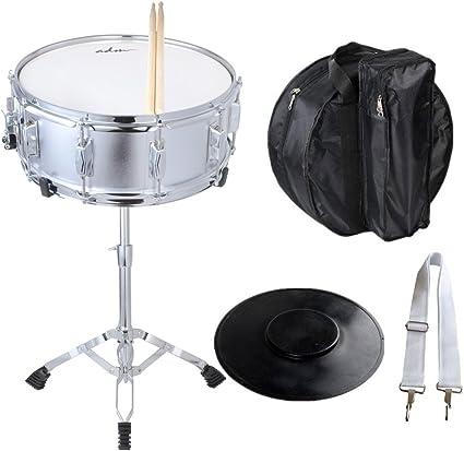 ADM - Juego de tambor de nieve para estudiantes con funda, palos, soporte y kit de práctica: Amazon.es: Instrumentos musicales