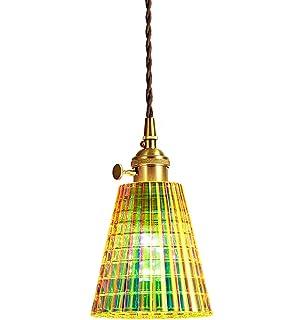 JohnnyLuLu Lámpara de Techo marroquí, lámpara Colgante