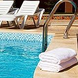Utopia Towels Medium Cotton Towels, White, 24 x 48