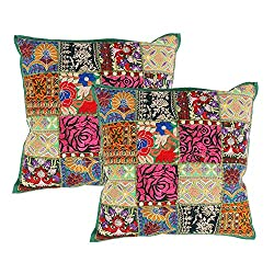 Throw Pillows Decorated with Embroidery Sequins