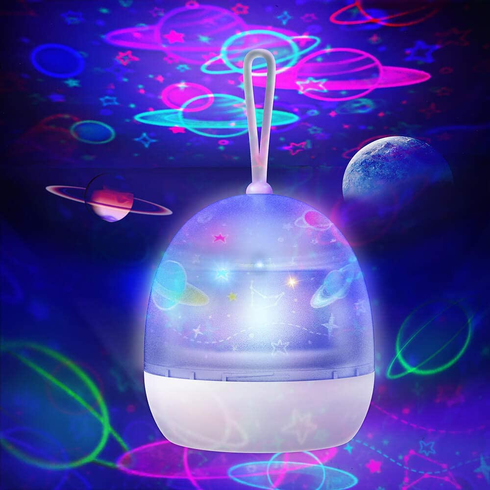 Amazon Com Zonpor Star Projector Night Light For Kids 360 Degree Rotating 4 Optional Themes Universe Planet Underwater World Carousel Star Sky Light Projector Lamp For Bedroom Girl Boy Home Kitchen