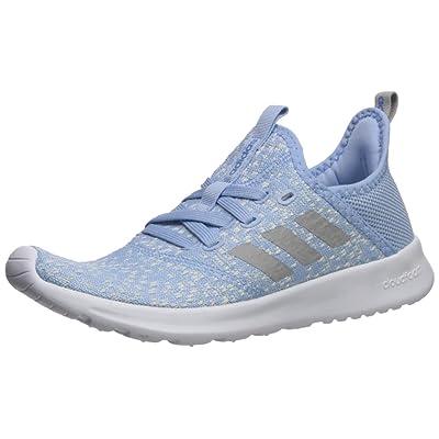 adidas Women's Cloudfoam Pure Running Shoe, Blue/Grey/Real Blue, 8 Medium US | Road Running