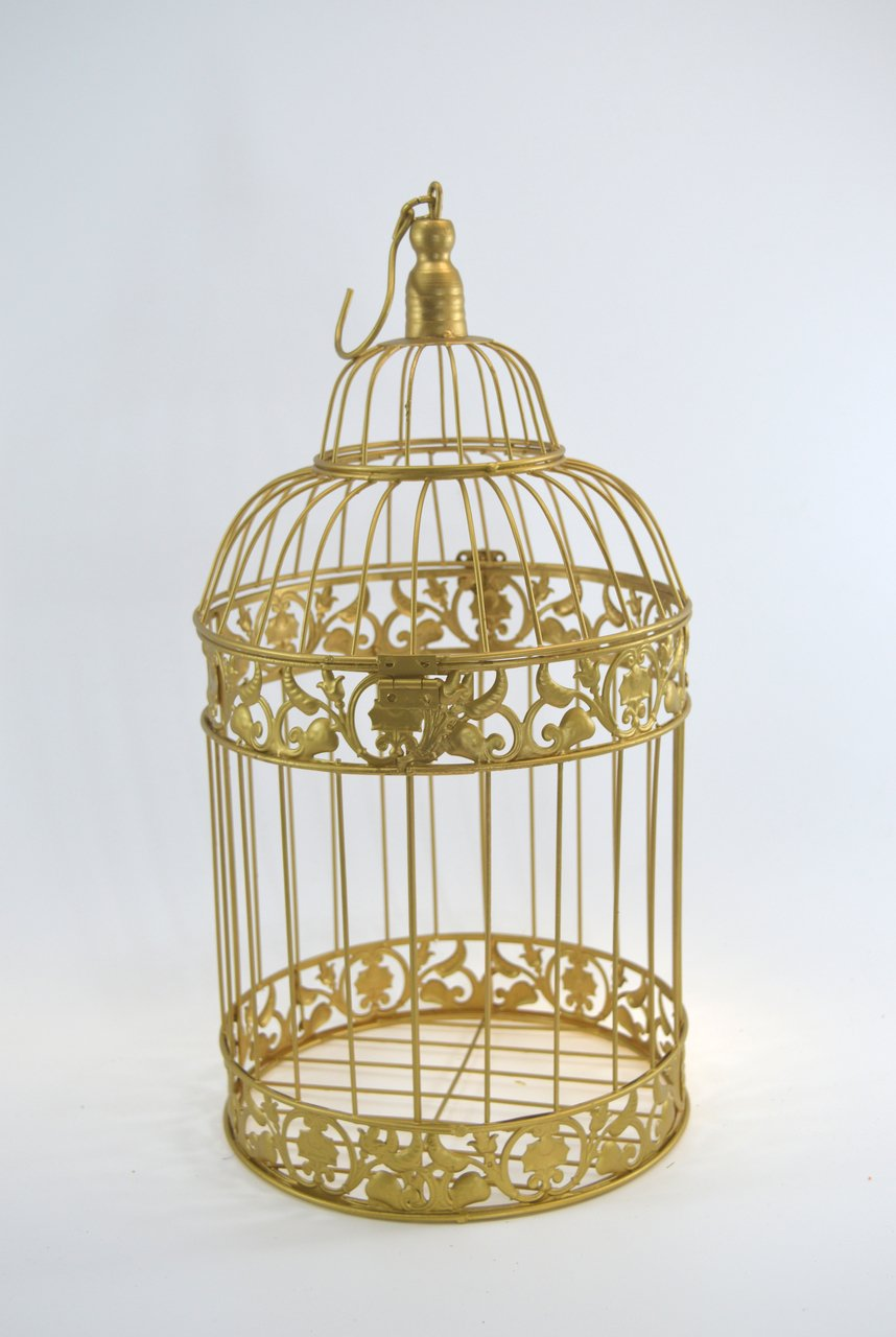 Amazon.com: afloerandmore Wedding Birdcage Centerpiece or Wishing ...
