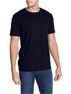 0de9e9379 Eddie Bauer Men's Legend Wash Short-Sleeve Pocket T-Shirt - Classic Fit