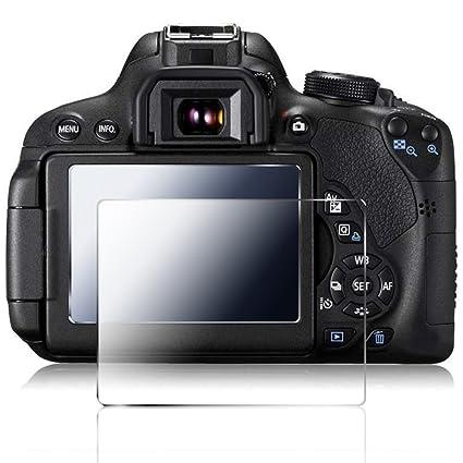 Cámara Protector de Pantalla para Canon 700D 750D 760D T5i T6i T6S ...