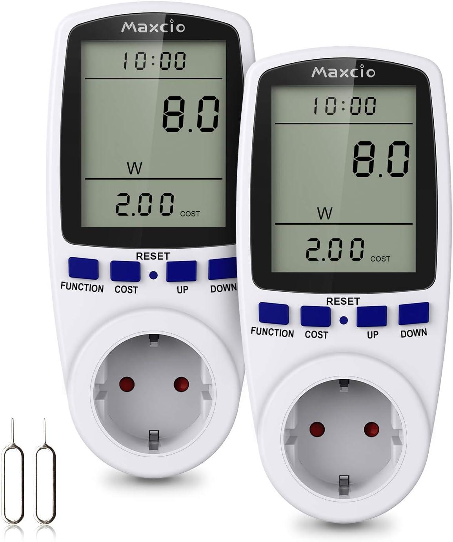 3680W Bater/ía incorporada GS ORNO WAT-435 Medidor de consumo electrico