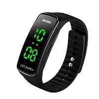 BesWLZ Unisex Kinder Digitaluhr Wasserdichte Sport Armbanduhr für Jungen Uhr Mädchen Kinderuhren