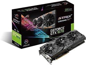 ASUS GeForce GTX 1070 8GB Graphic Card + Asus Gift