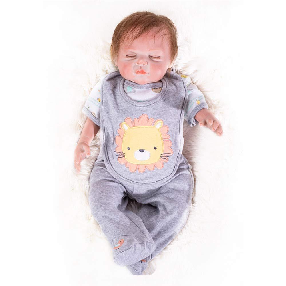 Hongge Reborn Bambola, Reallyborn Reborn Doll Sembra Real realistica realistica realistica Bambola Live 48cm