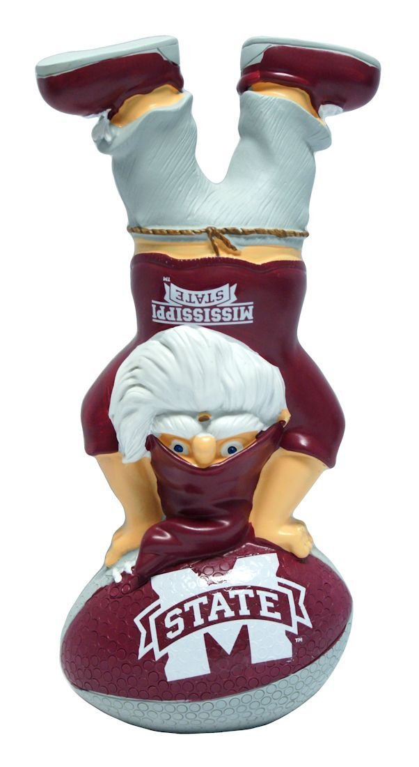 FOCO Mississippi State Handstand On Football Gnome