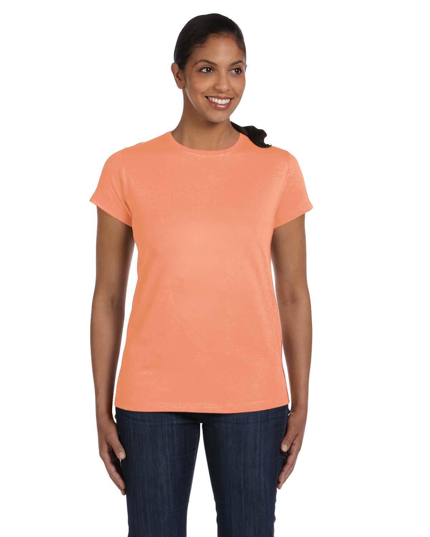 Hanes Women's Relaxed Fit Jersey ComfortSoft Crewneck T-Shirt 5680